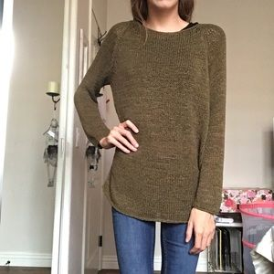 Forest Green Sweater | American Apparel